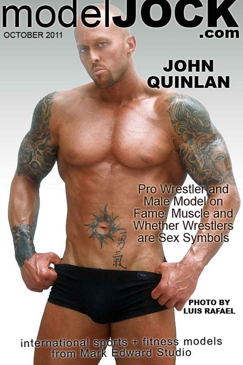 Model Jock.com Cover Model John Quinlan