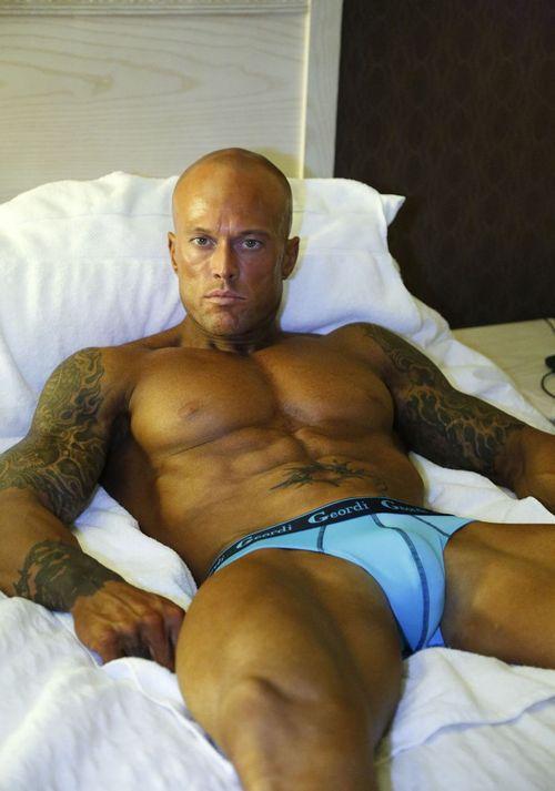 Male Underwear Model John Quinlan for Geordi