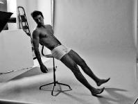 Leonel M Behind the Scenes via Argentine Men