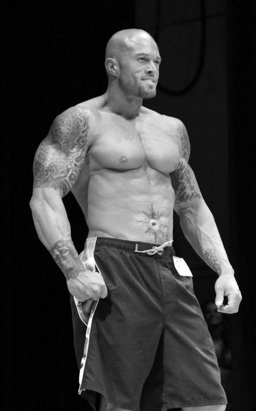 NPC Men's Physique Competitor John Quinlan