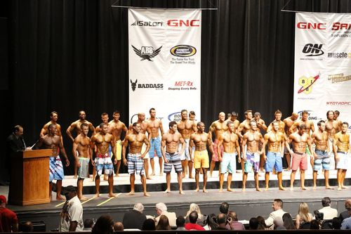 2012 NPC Men's Physique D Class USA's Sports Model John Quinlan