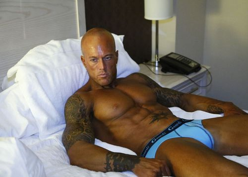 Male Underwear Model John Quinlan for Geordi