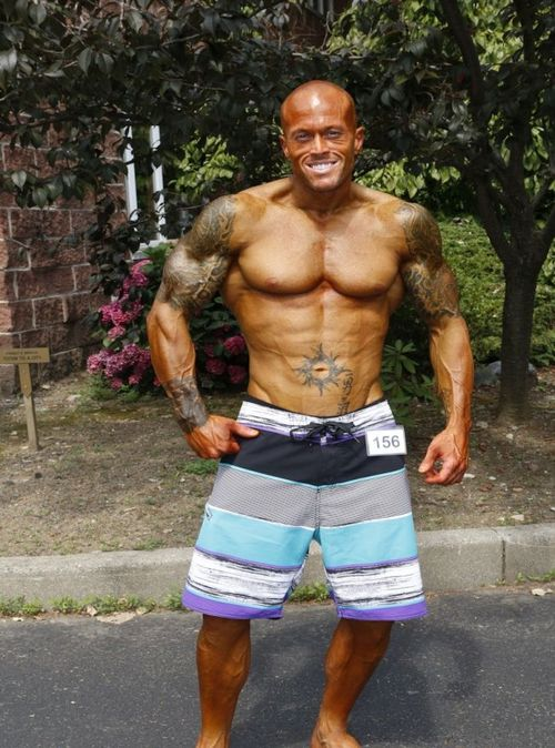NPC Team Universe Physique Competitor & Sports Model John Quinlan