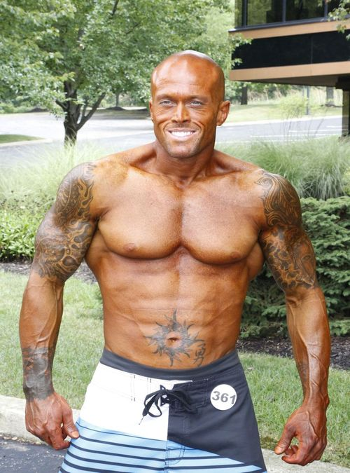 2012 NPC Men's Master's National Physique Competitor John Quinlan