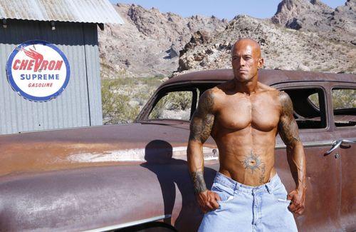Male Model John Quinlan Desert Shoot