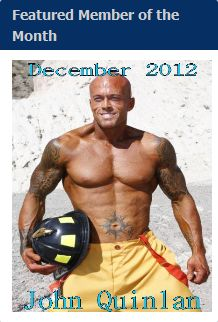 Featured December 2012 Tattooed Model John Quinlan