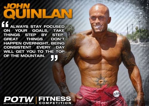 Fitness Physique Model John Quinlan 1