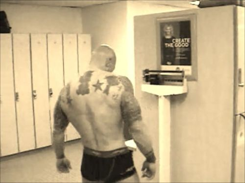 Tattooed Model John Quinlan Weigh-In March 2013