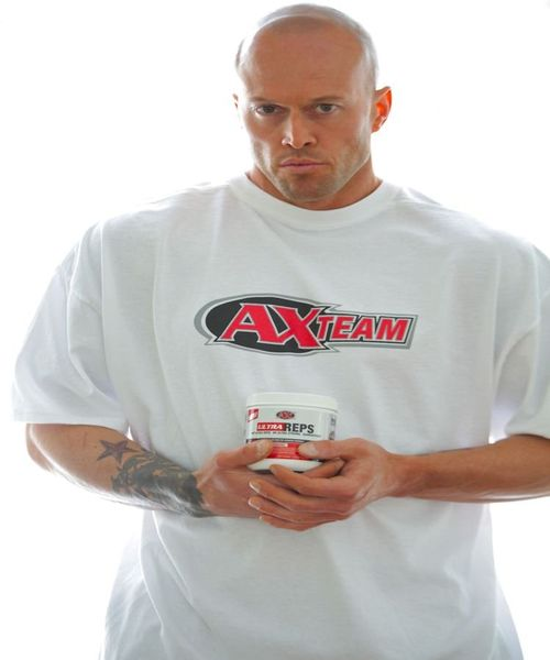 Tattooed Athletic Xtreme Image Model John Quinlan for Ultra Reps