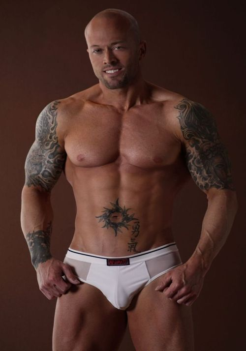 Male Underwear Model John Quinlan