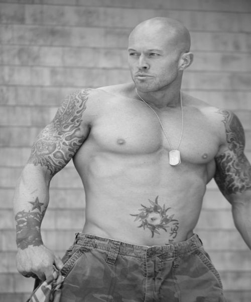 Model John Quinlan Military Soldier 5