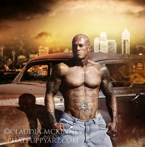 Romance Cover Model John Quinlan #1 by Claudia McKinney
