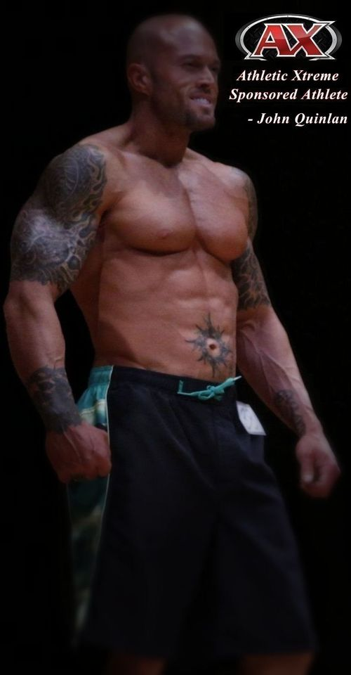 Athletic Xtreme Physique Model John Quinlan