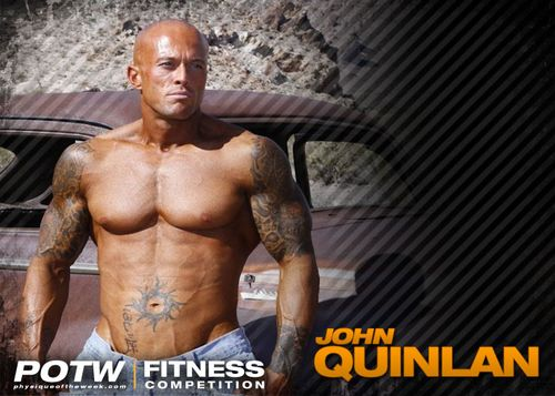 Fitness Physique Model John Quinlan 2