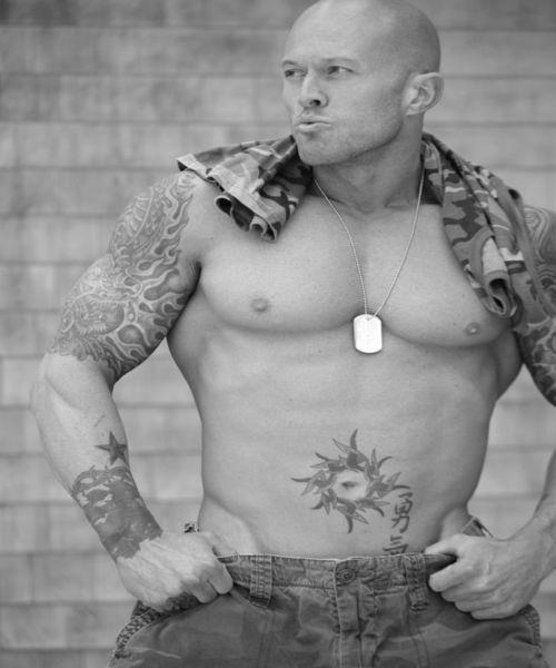 Model John Quinlan Military Soldier 3