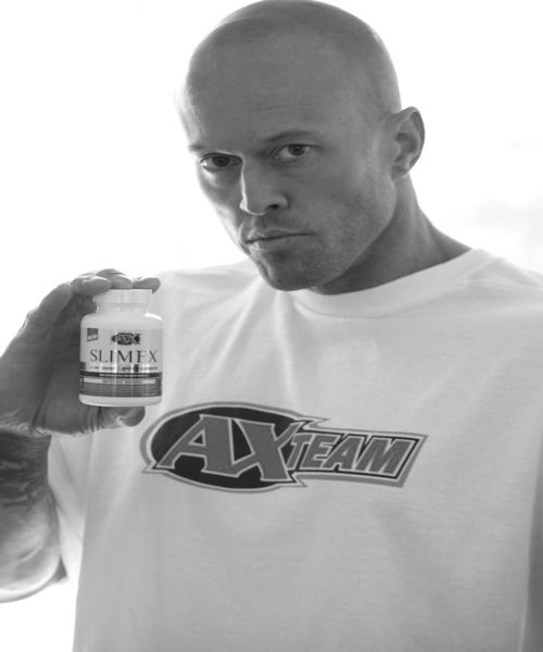 Tattooed Athletic Xtreme Image Model John Quinlan for Slim FX