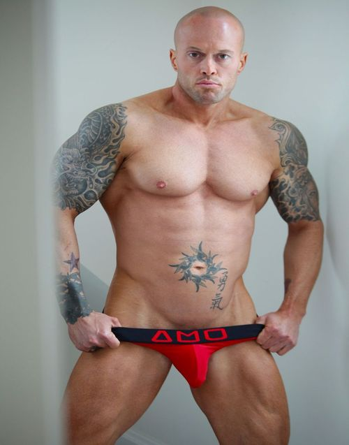 2013 Official Alpha Male Underwear Image Model John Quinlan(2)