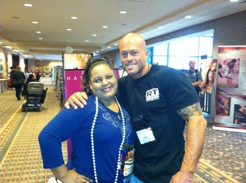 Tattooed Romance Cover Model John Quinlan with Mahalia Levey
