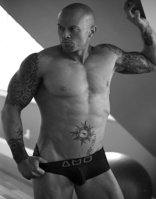 2013 Official Alpha Male Underwear Image Model John Quinlan(3)