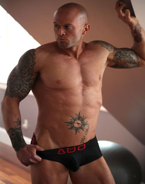 2013 Official Alpha Male Underwear Image Model John Quinlan