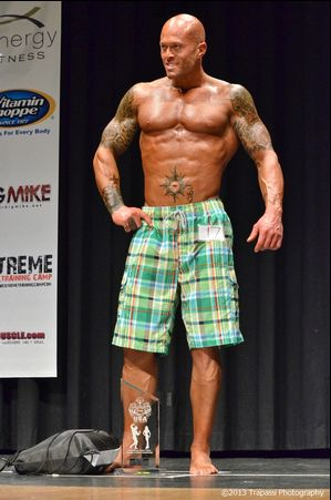 2013 NPC Vermont Men's Physique Model Overall Champion John Quinlan