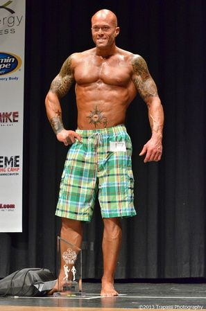 2013 NPC Vermont Men's Physique Model Overall Champion John Quinlan 3