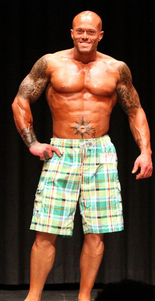 2013 NPC Vermont Men's Physique Overall Winner John Quinlan 3