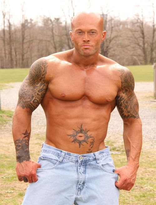 Tattooed Male Model John Quinlan 2