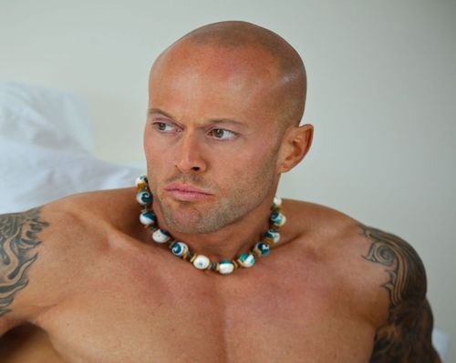 Male Model John Quinlan for Fashion Designer Ken Fron Jewelry(2)