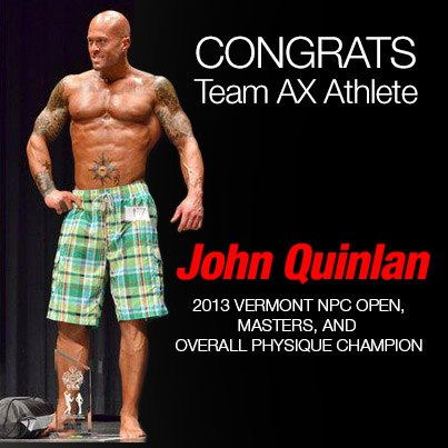 2013 Athletic Xtreme NPC Vermont Physique Model Overall Champion John Quinlan