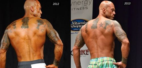 Tattooed Physique Model John Quinlan 2012 & 2013 on Stage Photos