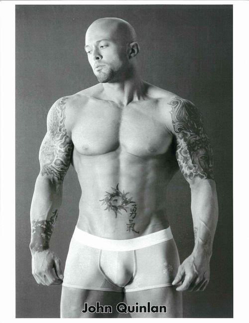 Tattooed Male Model John Quinlan 2012 Promo